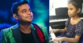 Visually-impaired girl, 10, plays 'Thumbi Thullal' on piano, impresses AR Rahman