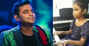 Visually-impaired girl, 10, plays 'Thumbi Thullal' on piano, impresses AR Rahman