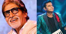 Big B sings in musical film presented by AR Rahman