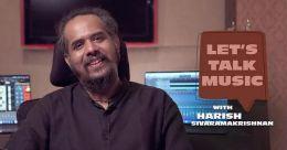 Singer Harish Sivaramakrishnan to regale music lovers with 'Let's Talk Music' workshop