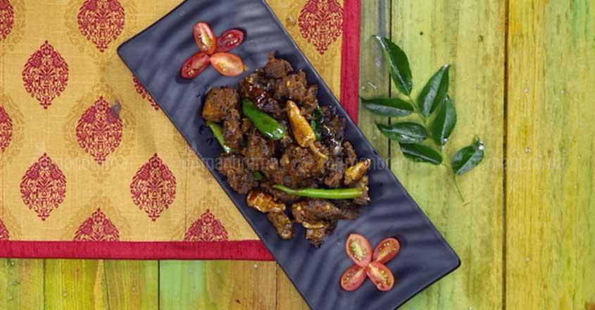 Celebrate with spicy beef kondattam