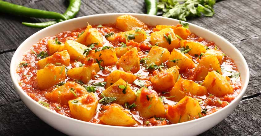 Try this special potato and tomato curry
