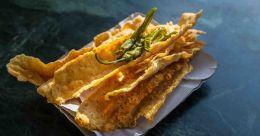 Gujarati snack fafda