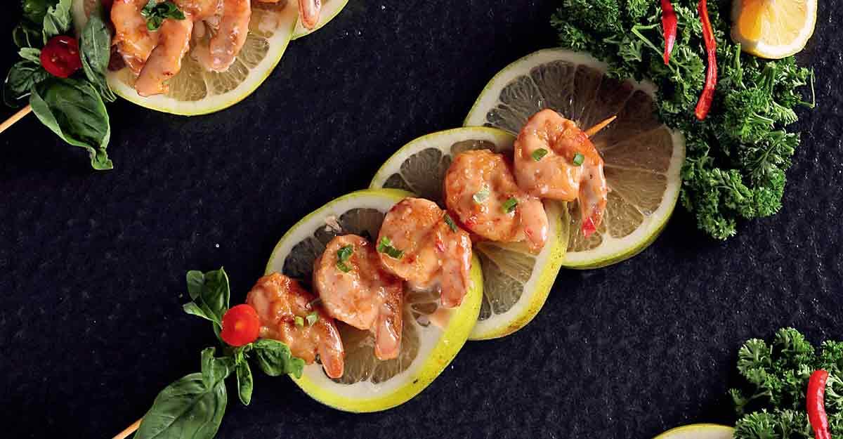 Crispy Thai prawns