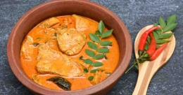 Spicy and aromatic Goan fish curry