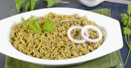 Fragrant and flavoursome mint rice