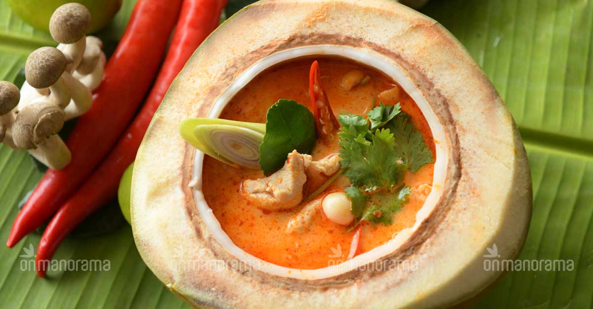 Enjoy this special Thai chicken soup during monsoon