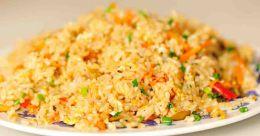 Easy egg rice