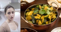 South Indian-style zucchini from 'Alia Bhatt's Kitchen'