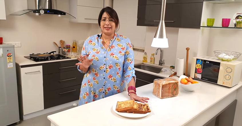 Easy French toast recipe by Lekshmi Nair