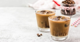 Try this caramel surprise cold brew on International Coffee Day