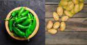 Jalapeno and potato dish
