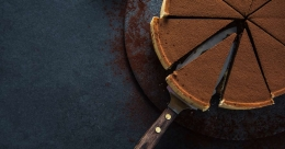 Relish this delectable mocha tart