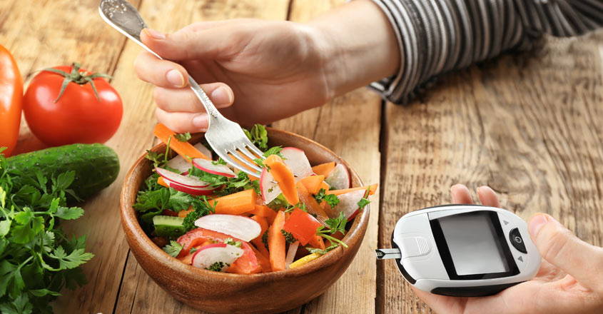 Can you regulate the diabetes level by controlling food?