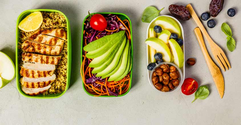 Make lunch boxes attractive by packing various and nutritious food