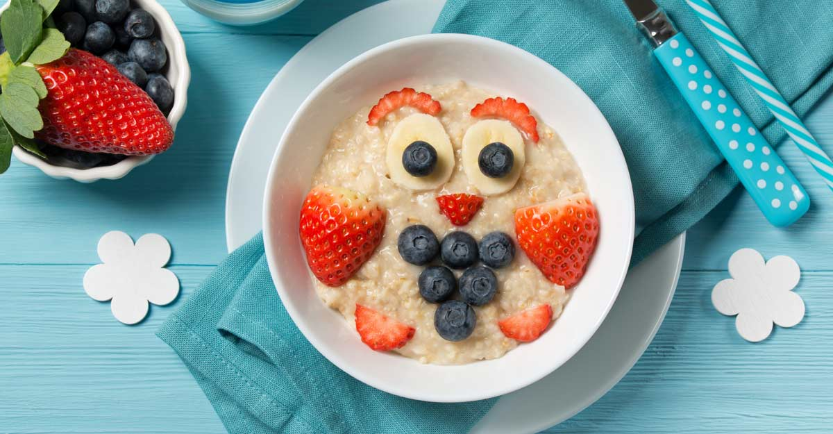 Nutrient-rich food for little ones