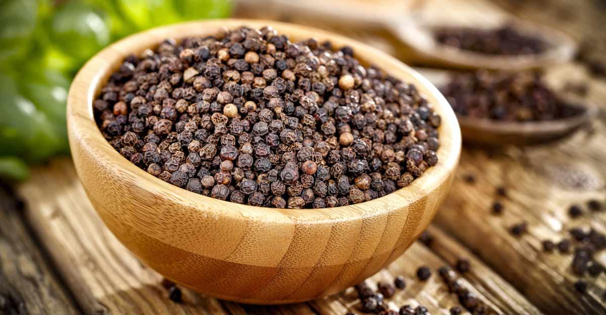 Black pepper   Shutterstock