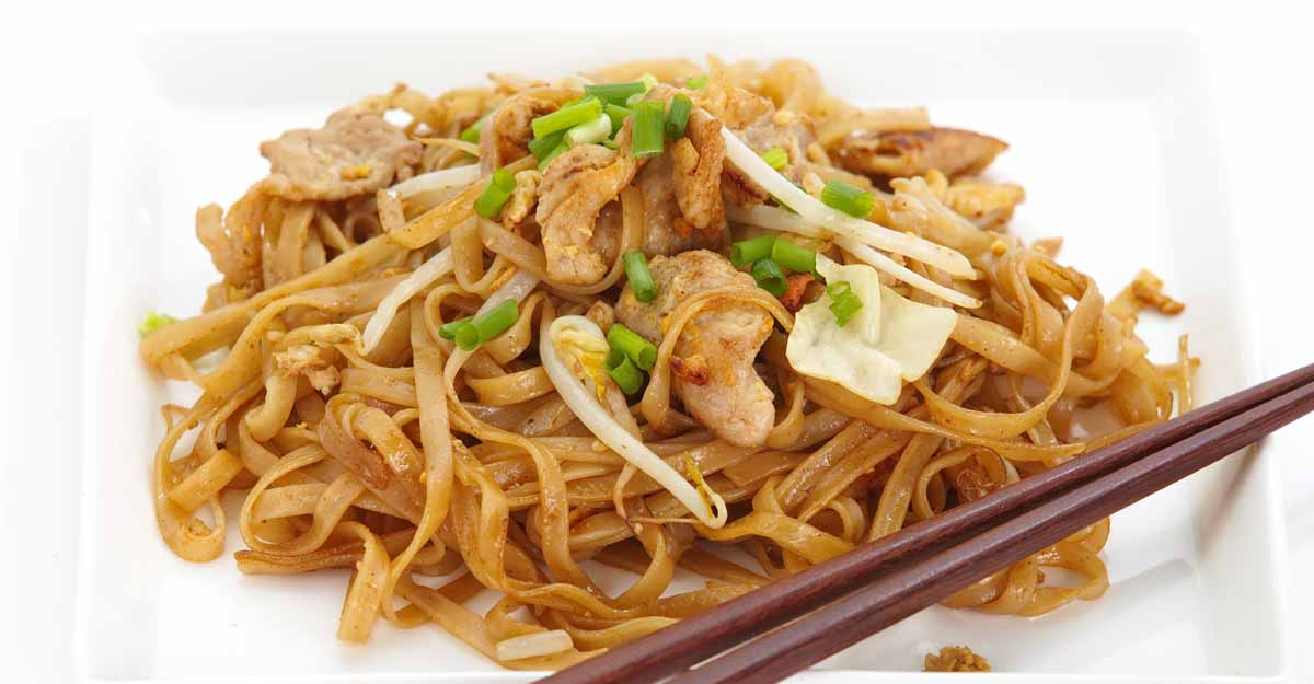 red rice noodles