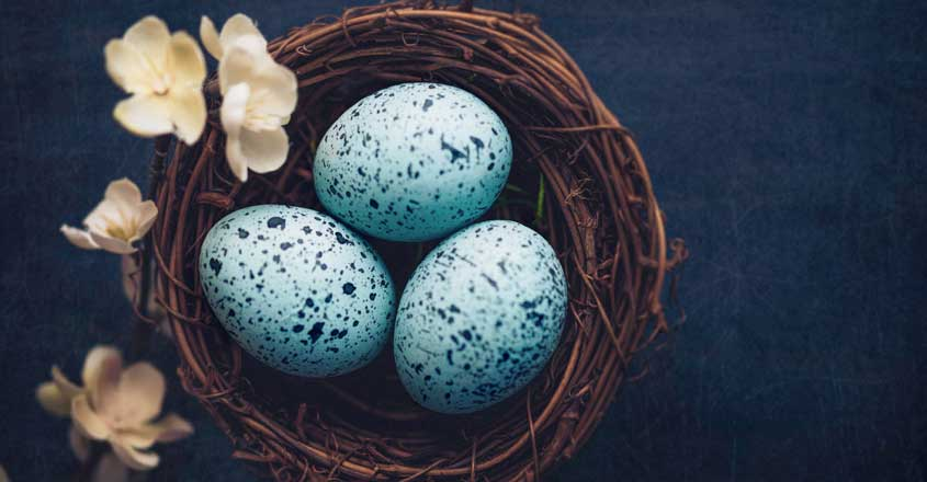 The colourful Easter eggs have a joyous history of their origin