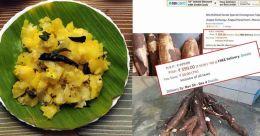 Tapioca costs a bomb online at Bengaluru