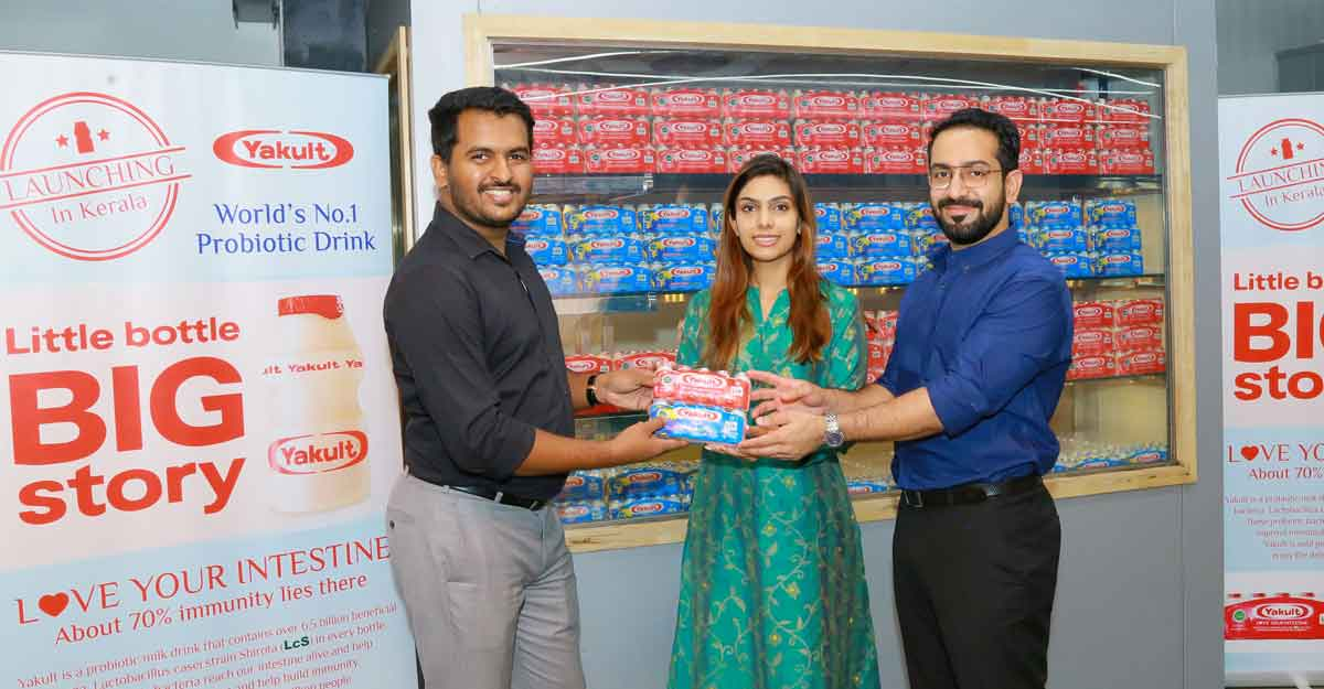 Probiotic milk brand Yakult launched in Kerala