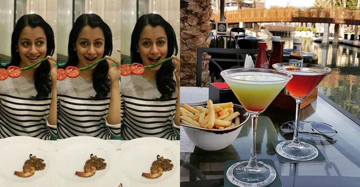 Actress Reenu Mathews on her love for world cuisine