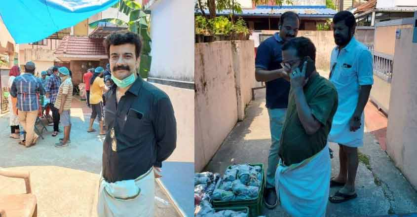 Film fraternity in Kochi serves chicken biryani to needy during lockdown