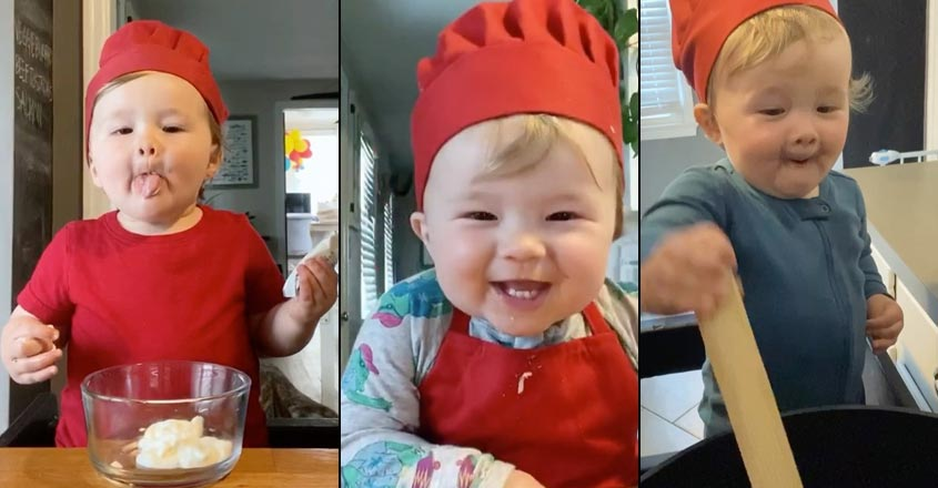 Baby chef sets Instagram on fire with 1.4 mn followers