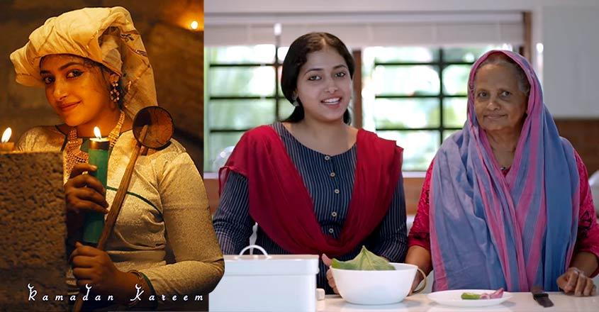 Anu Sithara cooks special 'thalippu' for Iftar