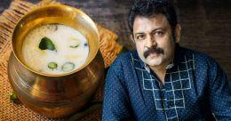 Actor Krishnakumar's special buttermilk