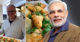 Australian PM makes 'samosas' and chutney for PM Modi