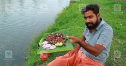 The inspirational story of Unni George, the vlogger who catches fish