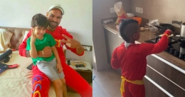 Shikhar Dhawan's son Zoravar turns chef during lockdown