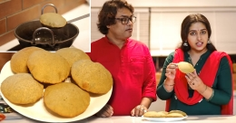 Wheat poori by Anu Sithara