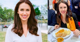 New Zealand PM Jacinda enjoys chole puri and the pictures go viral