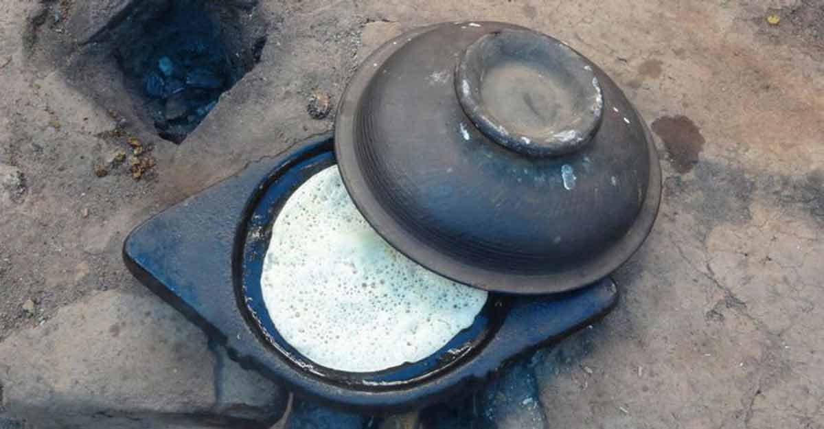 Soft kallupittu with spicy roast chicken is an iconic Wayanad dish