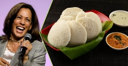 Kamala Harris recalls love for idli and other memories of India
