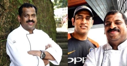 Chef Suresh Pillai recalls special food memories with Dhoni
