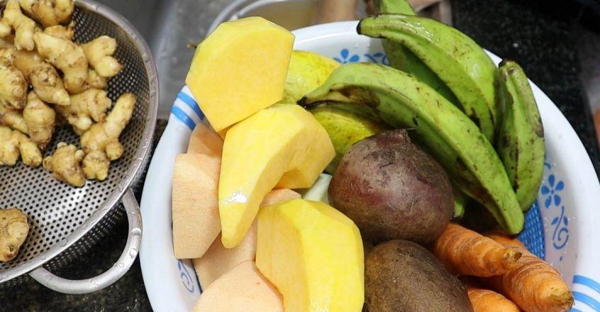 vegetables for sadya