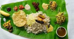 How Kerala serves its grand Onasadya in style