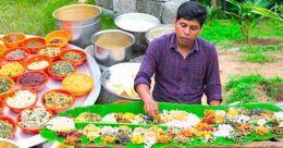 Vlogger Firoz Chuttipara amazes with mega 100-dish sadya