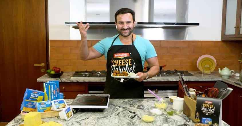 Saif Ali Khan turns chef for this series.