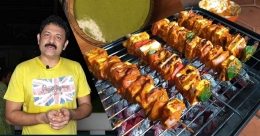 Grilled paneer tikka by Krishna Kumar