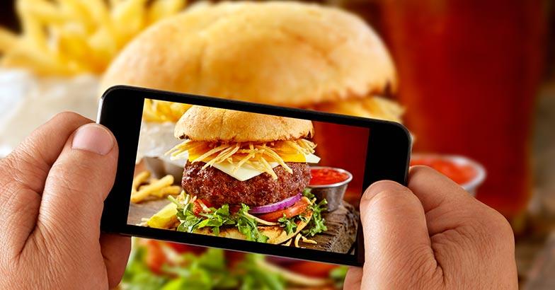 Instagram food photography