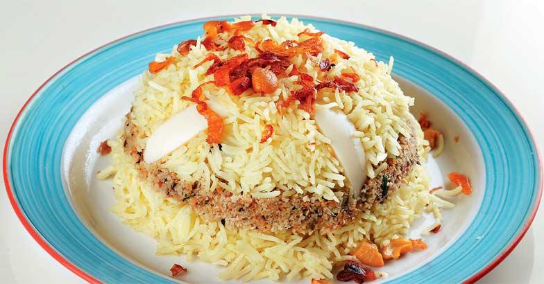 Layered Rice