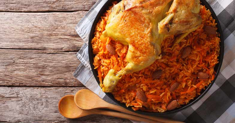Dine Like A King Feast On This Chicken Kabsa