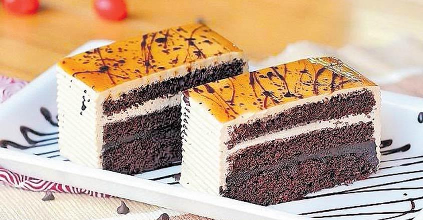 Delicious coffee pastry