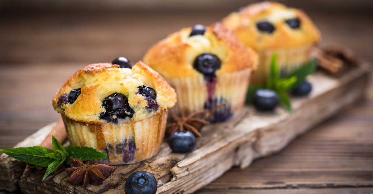 Blueberry muffins for Christmas | Shutterstock Images