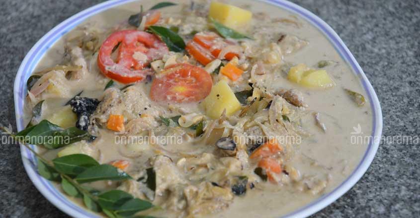 Kerala-style fish stew for Ramadan