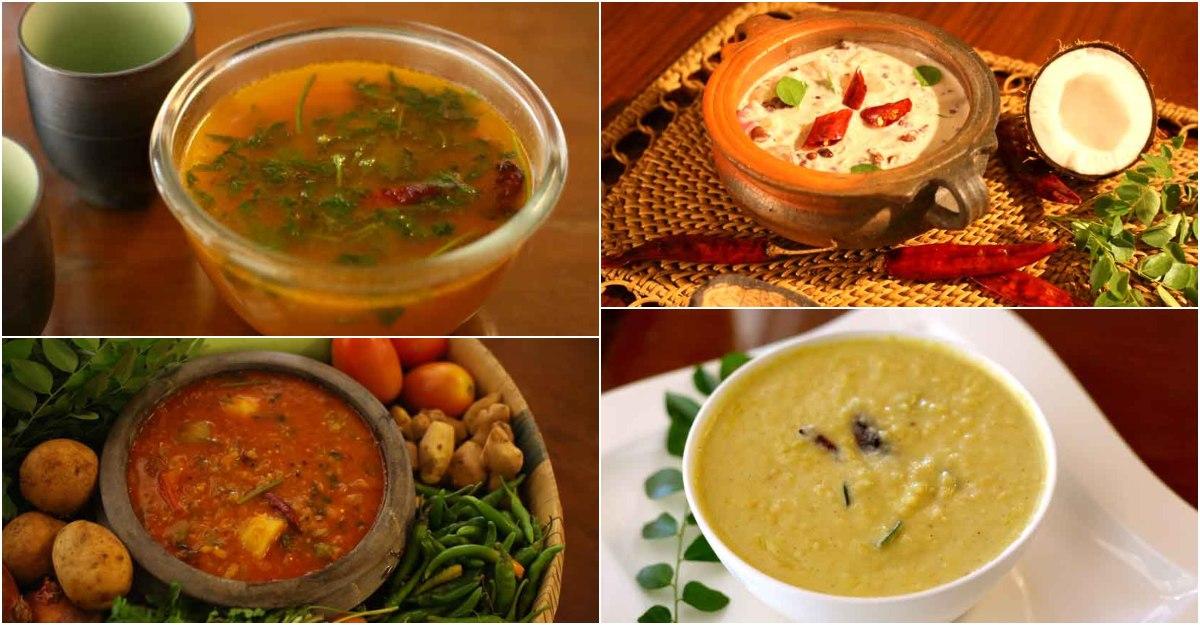 sadya curries